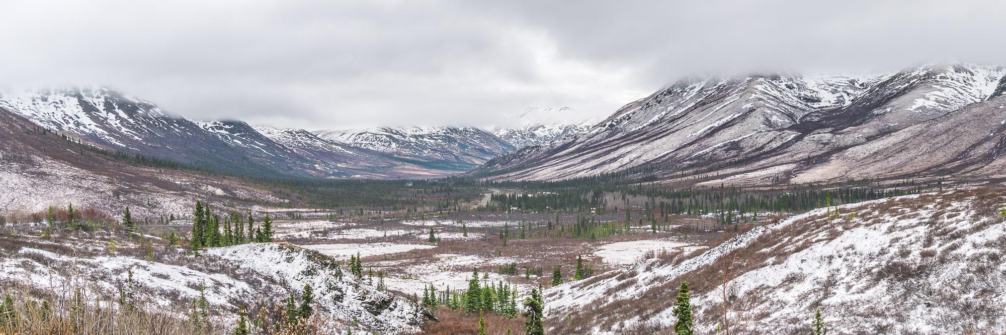Dempster Highway views Yukon road trip
