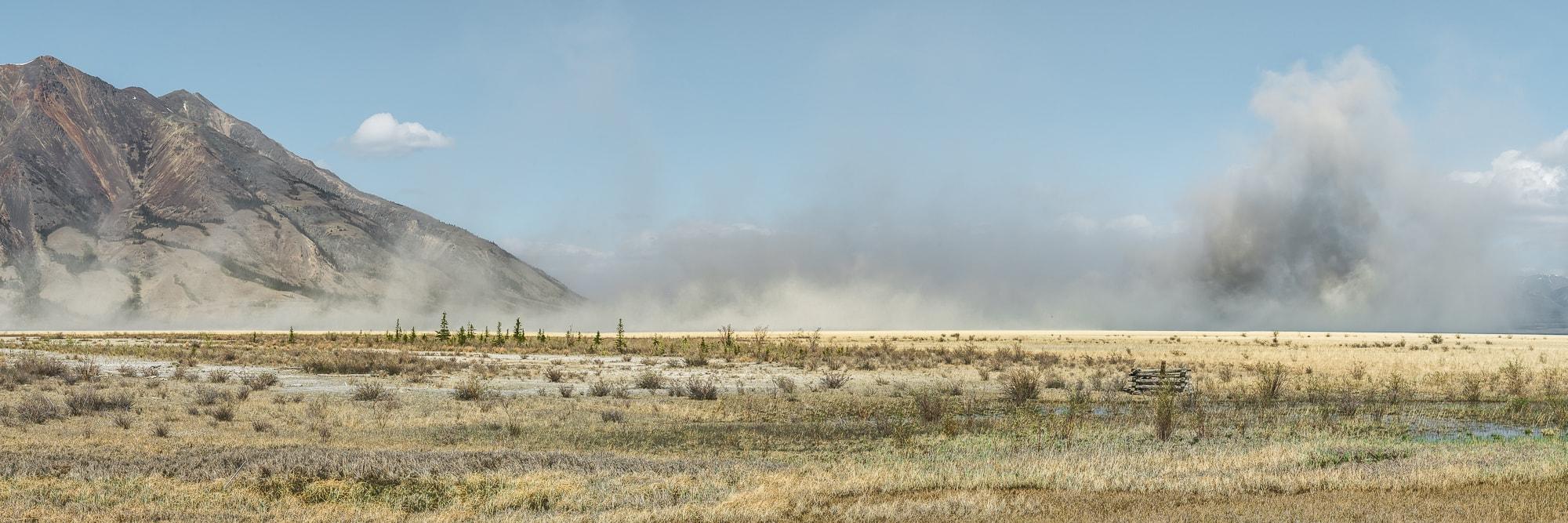 Dust Kluane Lake one week Yukon