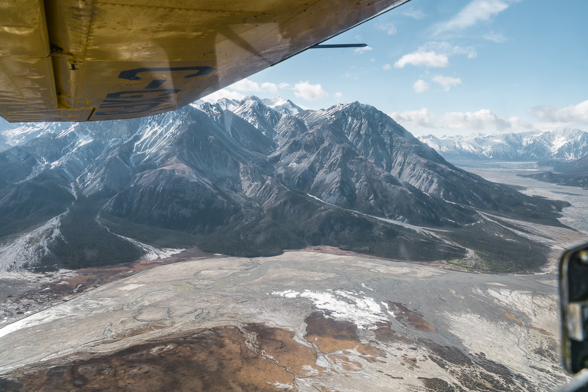 Kluane flightseeing tour with Icefield Discovery