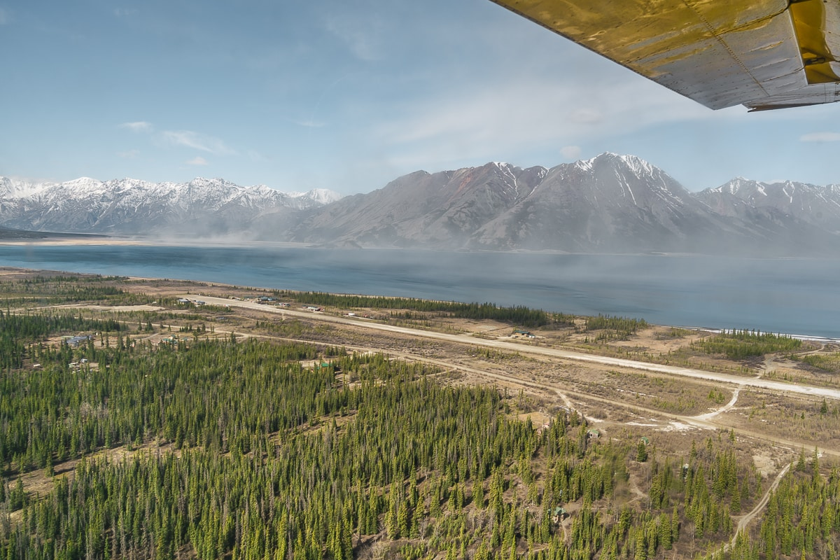 Kluane Lake flightseeing tour