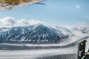 Kluane National Park flightseeing tour Yukon