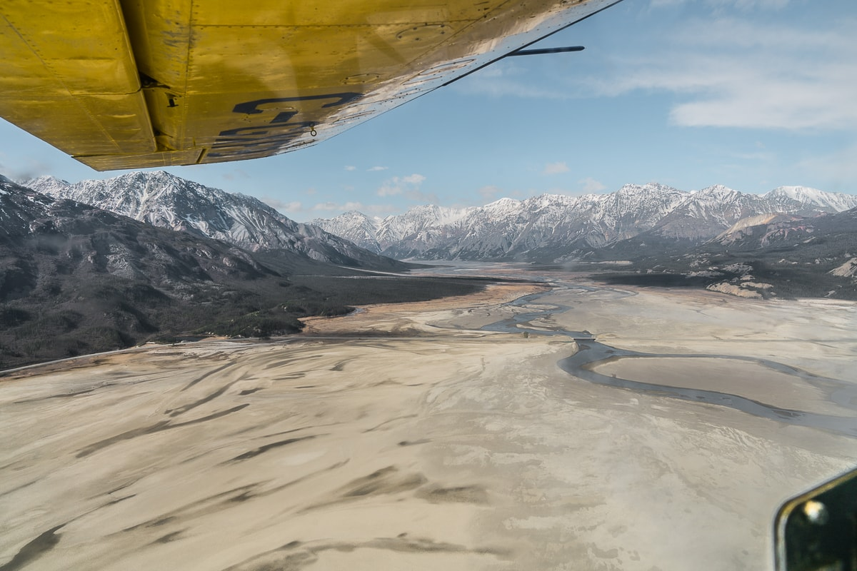 Kluane national park flightseeing tour