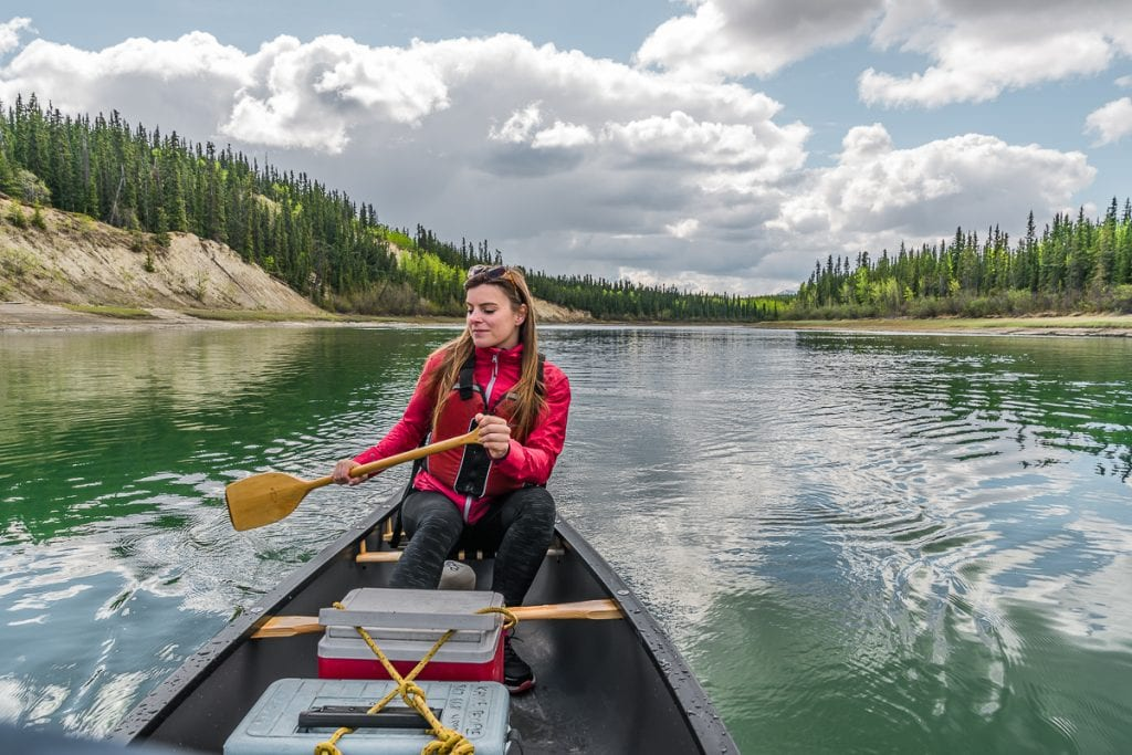 Paddling the Yukon River from Whitehorse