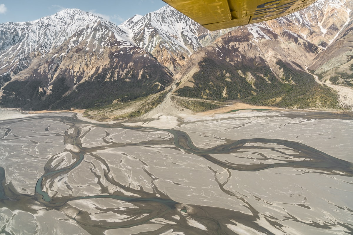 Slims River Kluane National Park