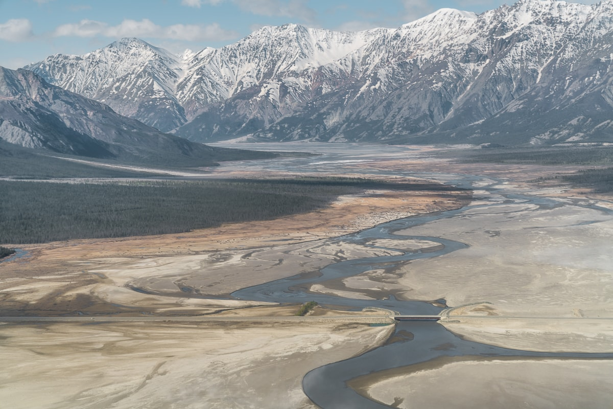 Slims River Valley Kluane National Park