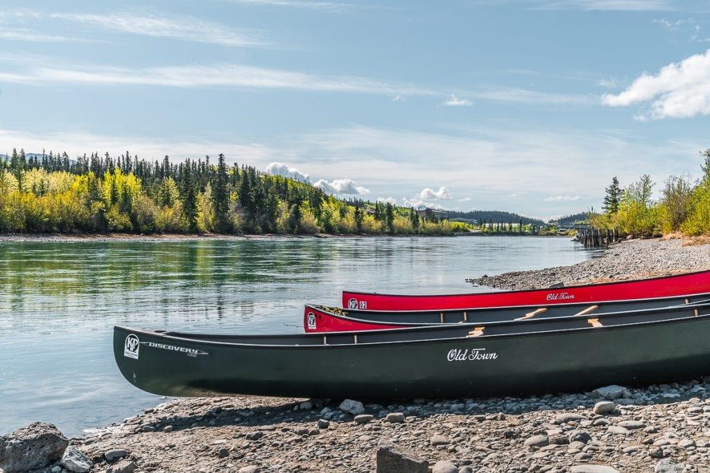 Yukon canoe trips