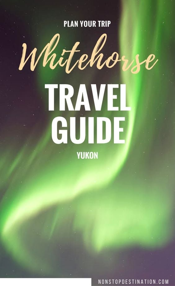 whitehorse travel guide pin