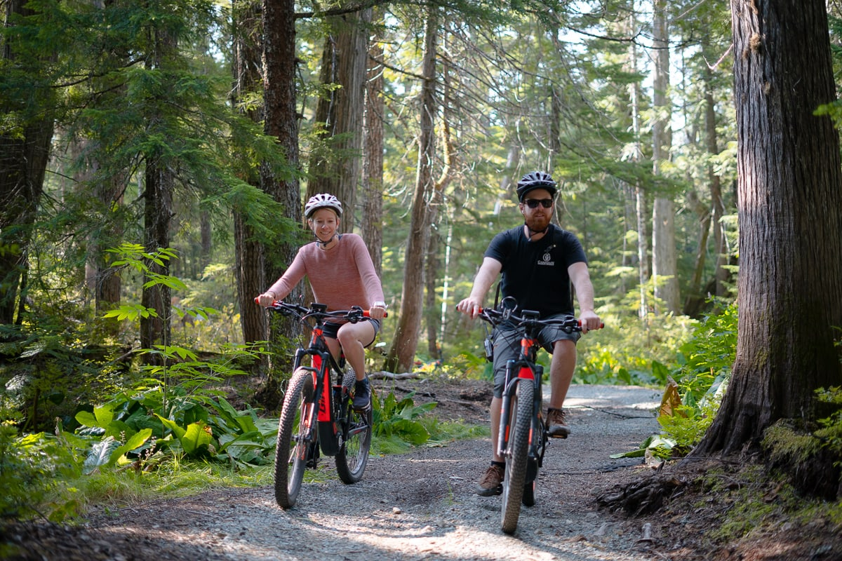 ebike Whistler Canadian Wilderness Adventures