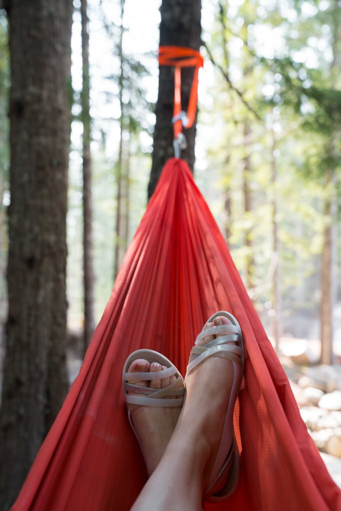 Hammock at the Sea To Sky Gondola
