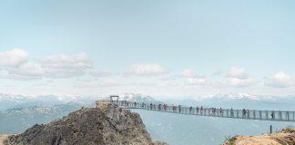 Whistler Summer suspension bridge