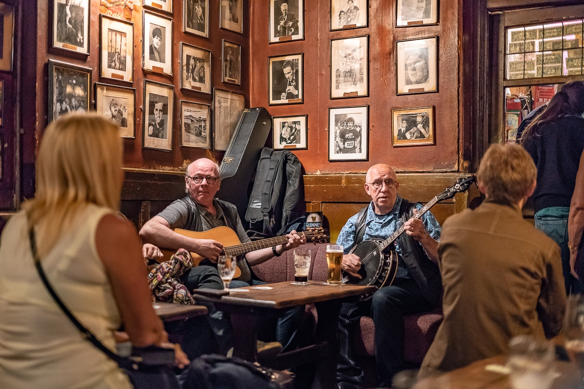 Dublin Pub live music Ireland