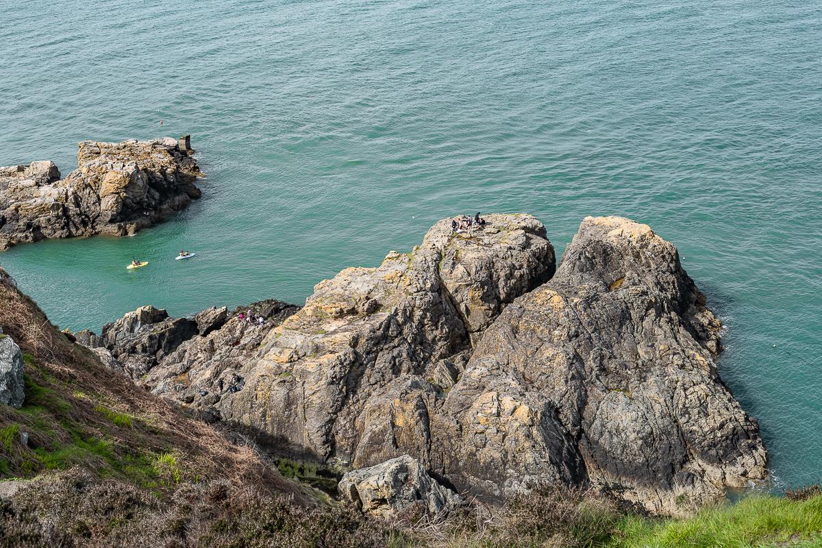 Howth cliffs Ireland