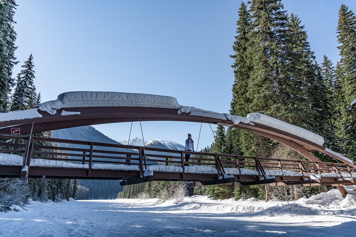Lightning Lake bridge Manning Park