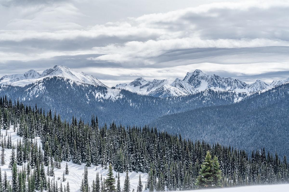 Manning ski resort views