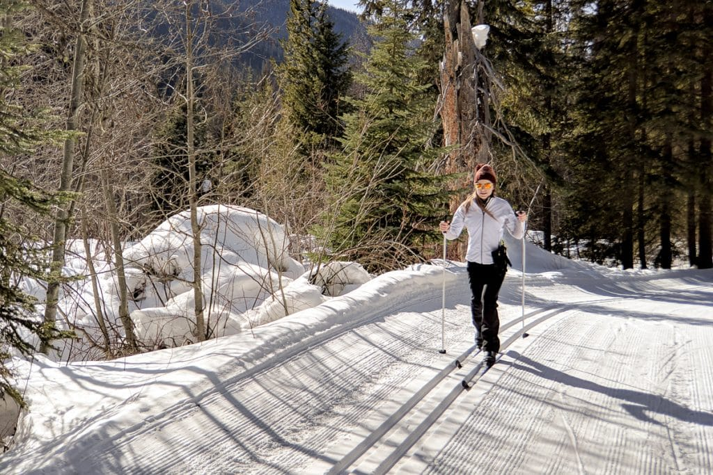 Nordic skiing EC Manning Park