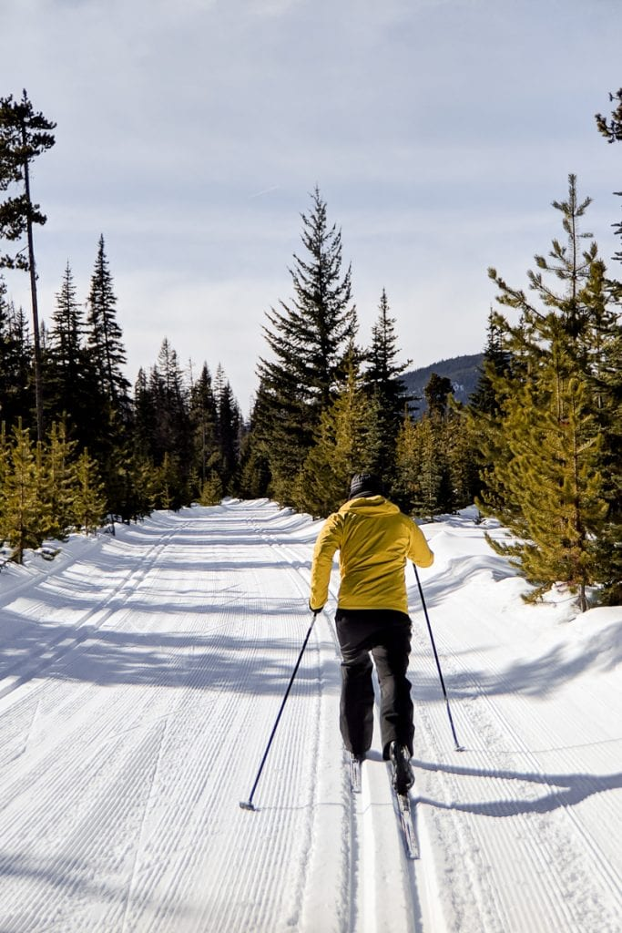 Nordic skiing Manning Park
