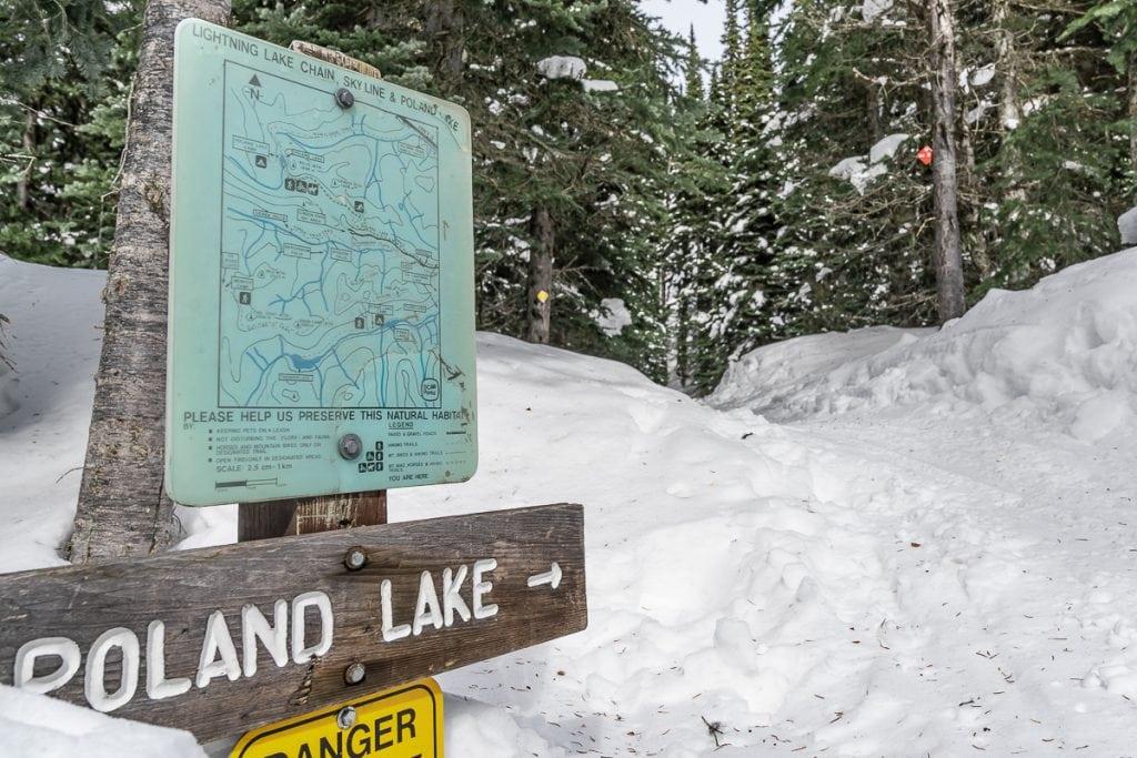 Poland Lake hike EC Manning Park
