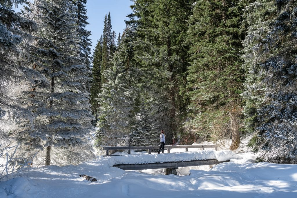 Snow lightning lake