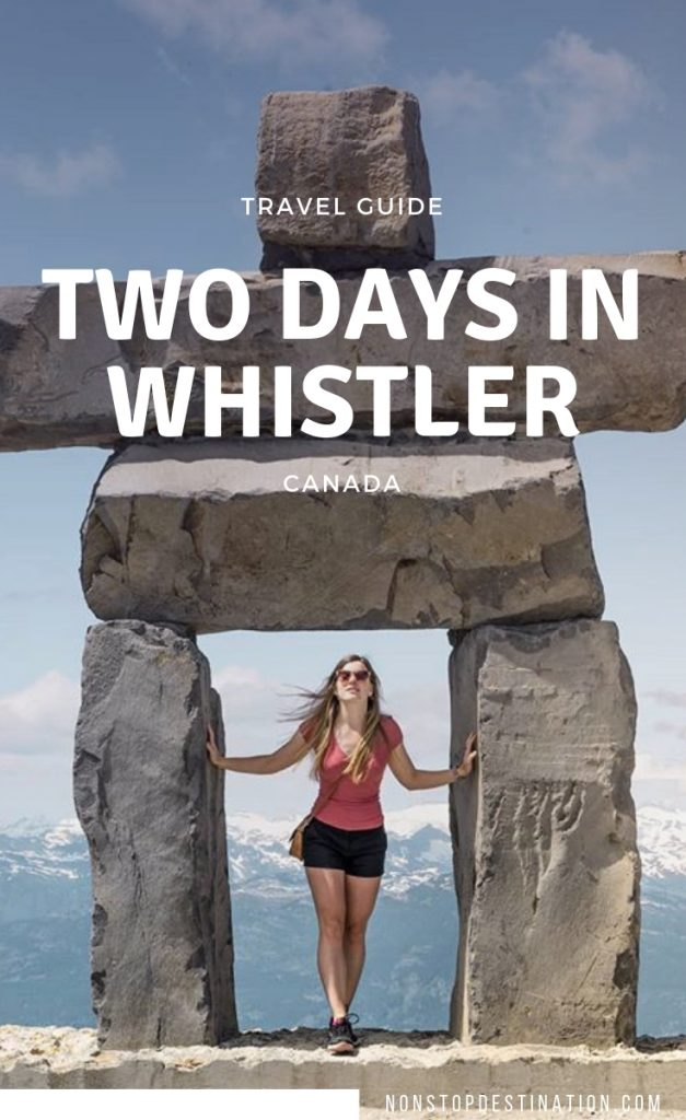 Mountain getaway: How to spend two days in Whistler
