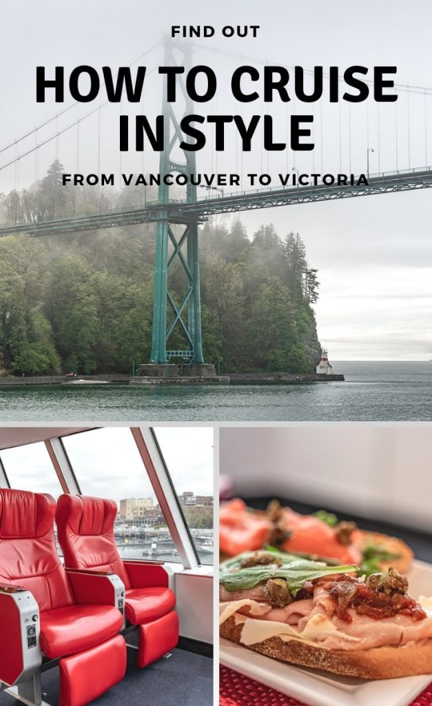 Travel in style on the V2V Empress from Vancouver to Victoria. V2V Vacations is the perfect start to your Vancouver Island holiday. Our V2V journey promised us a relaxing trip in style. We were not disappointed. In our review of the service, we show you why V2V Vacations is the best option if you're looking for a convenient and stylish cruise between Vancouver and Victoria.