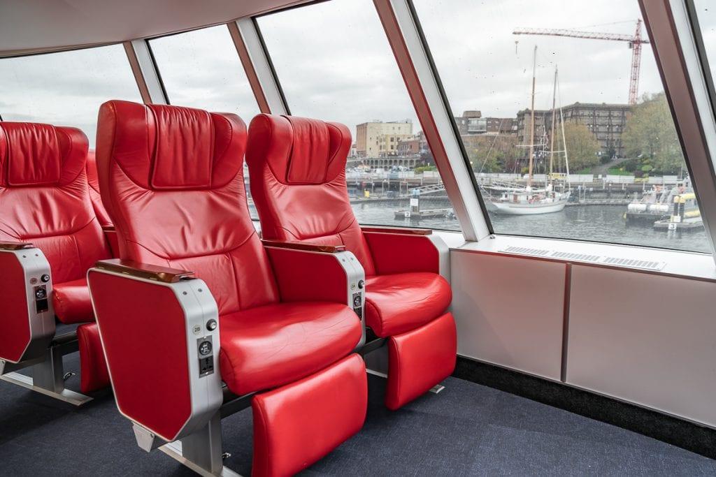 V2V Vacations Royal class seating