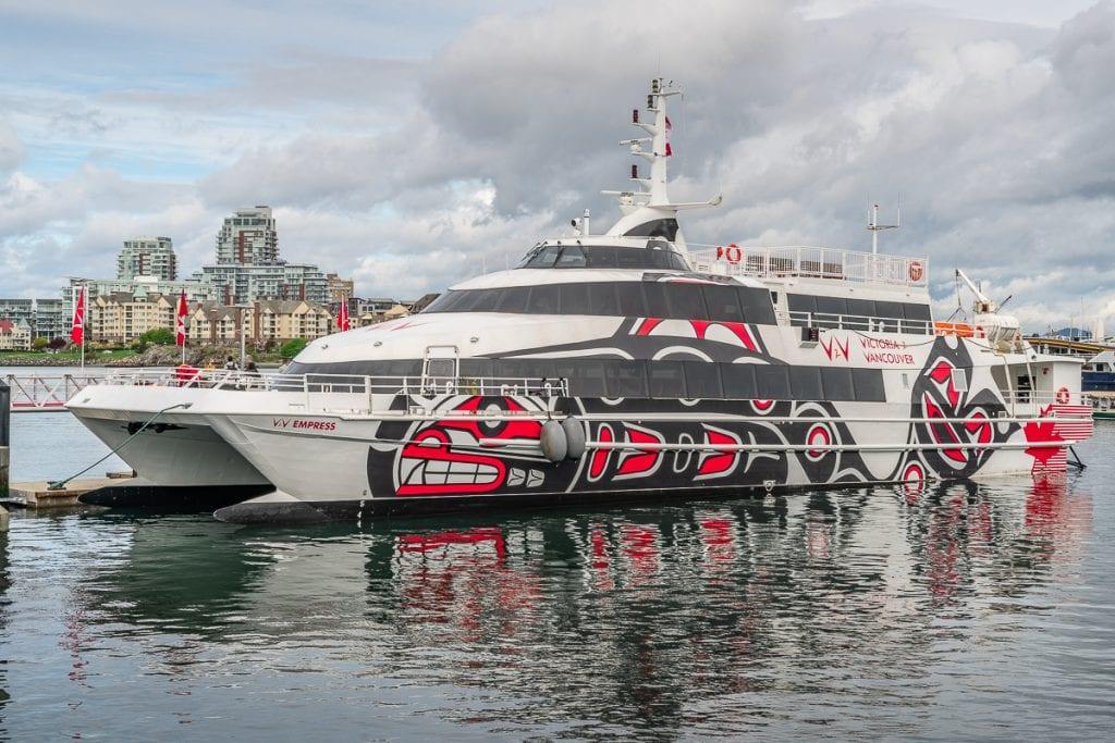 Vancouver to Victoria ferry v2v empress