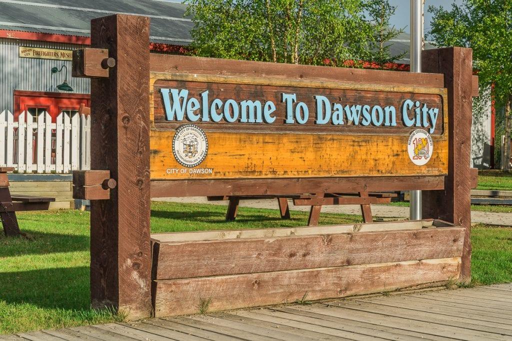 Welome to Dawson City