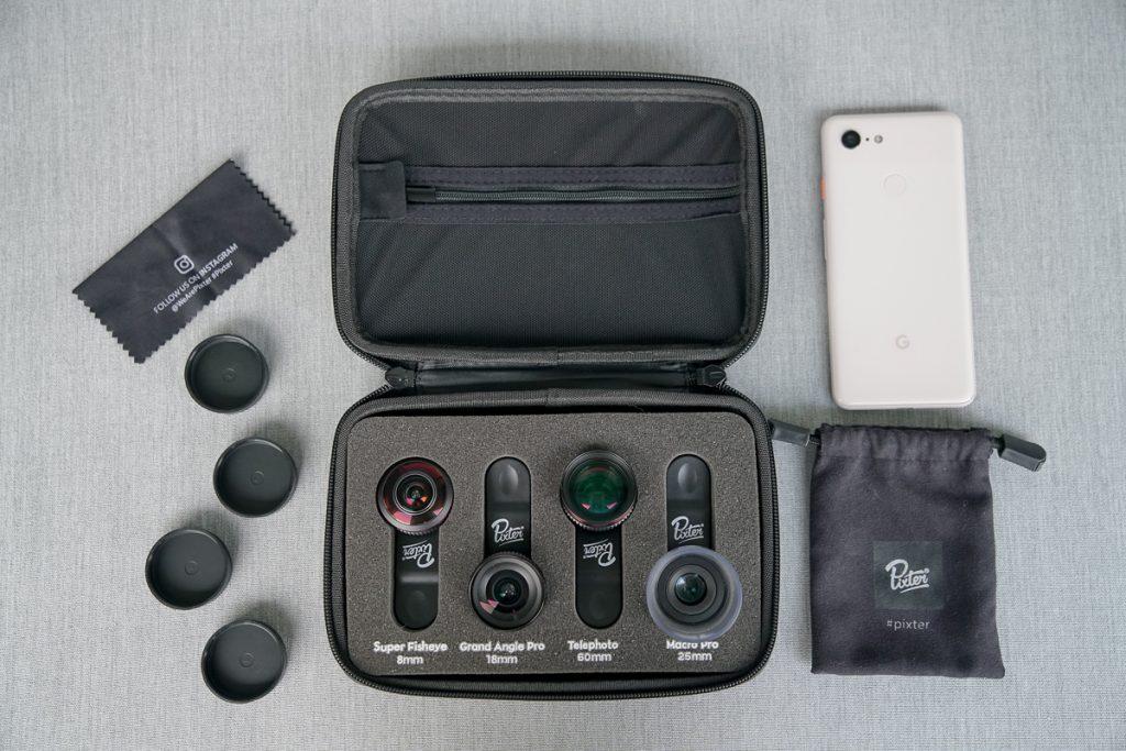 Mobile lens kit
