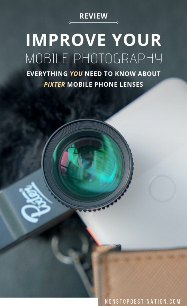 Improve your mobile photography with these mobile lenses. Pixter mobile lens kit gives you the opportunity to take your phone photography to the next level. These mobile phone lenses can be used on any phone, including the iPhone, Samsung and Pixel phones.