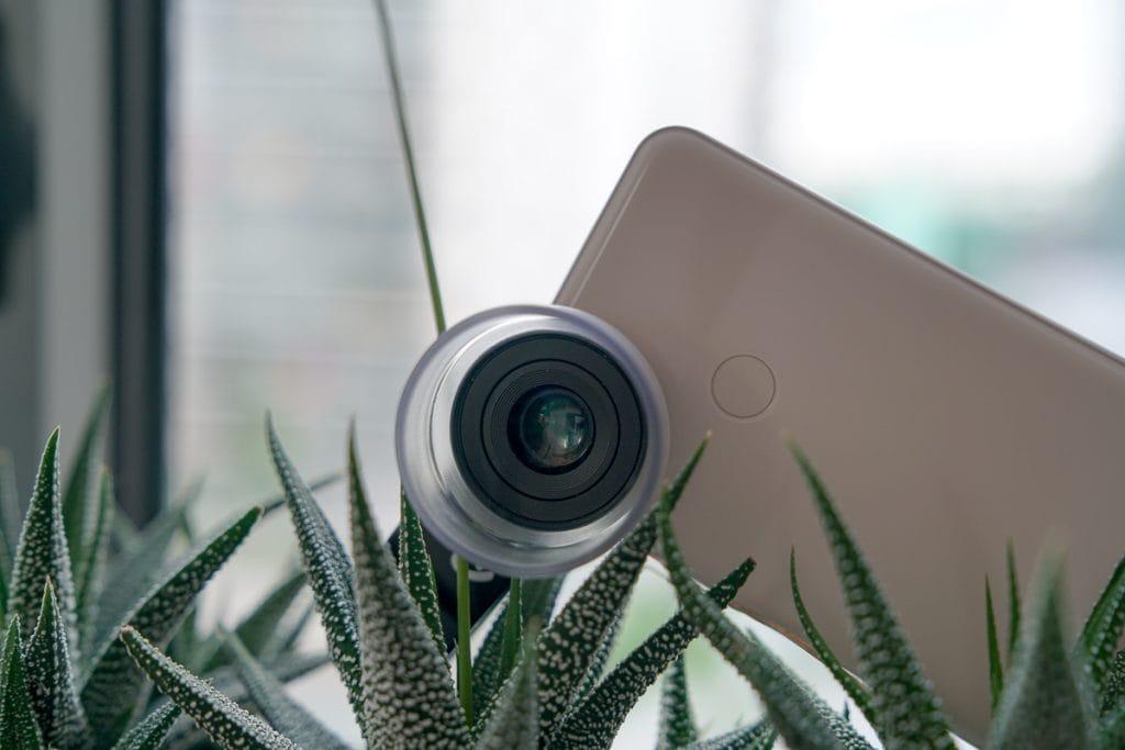 Pixter macro phone lens