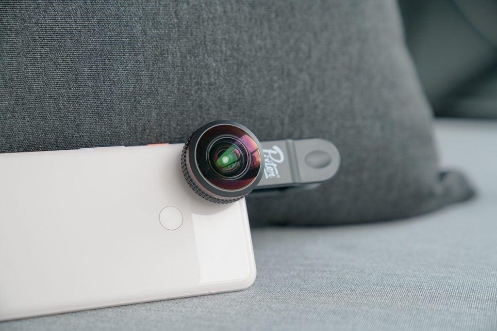 Pixter super fisheye phone lens