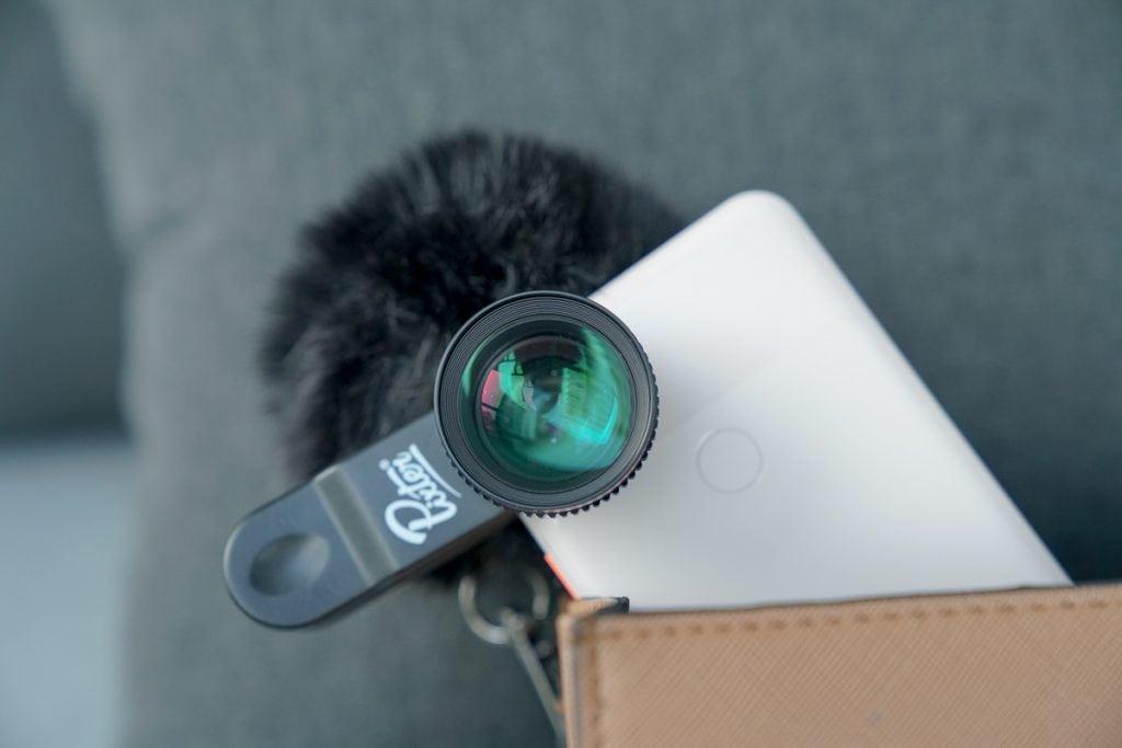 Pixter telephoto phone lens