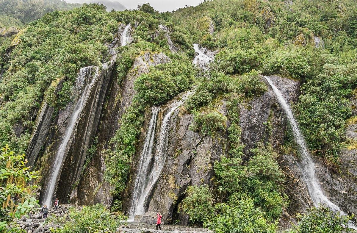 Franz Josef waterfalls