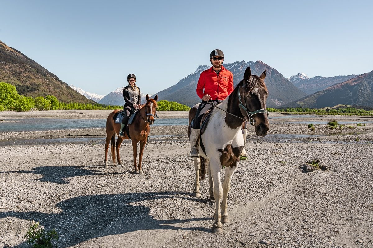 Glenorchy horse riding nz
