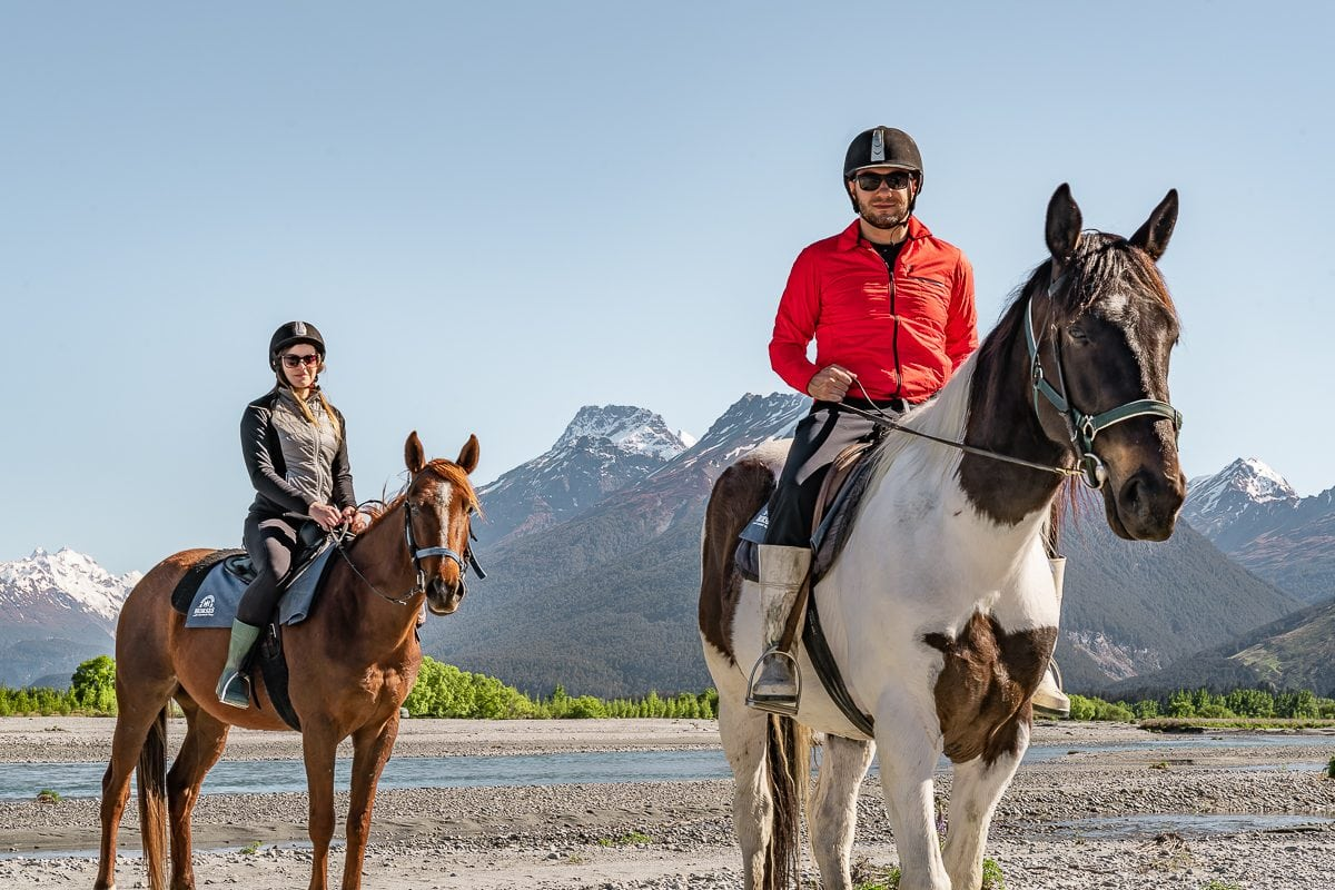 Glenorchy horse riding Queenstown