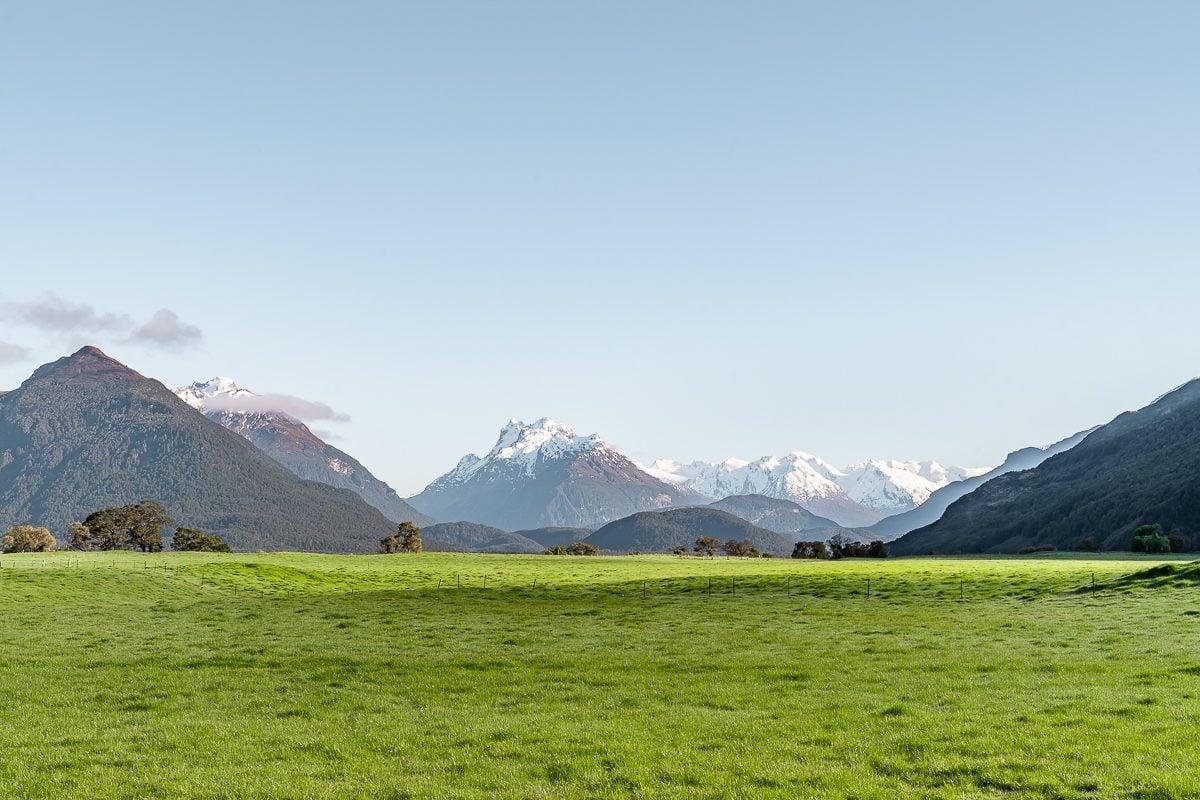 Glenorchy view fields nz