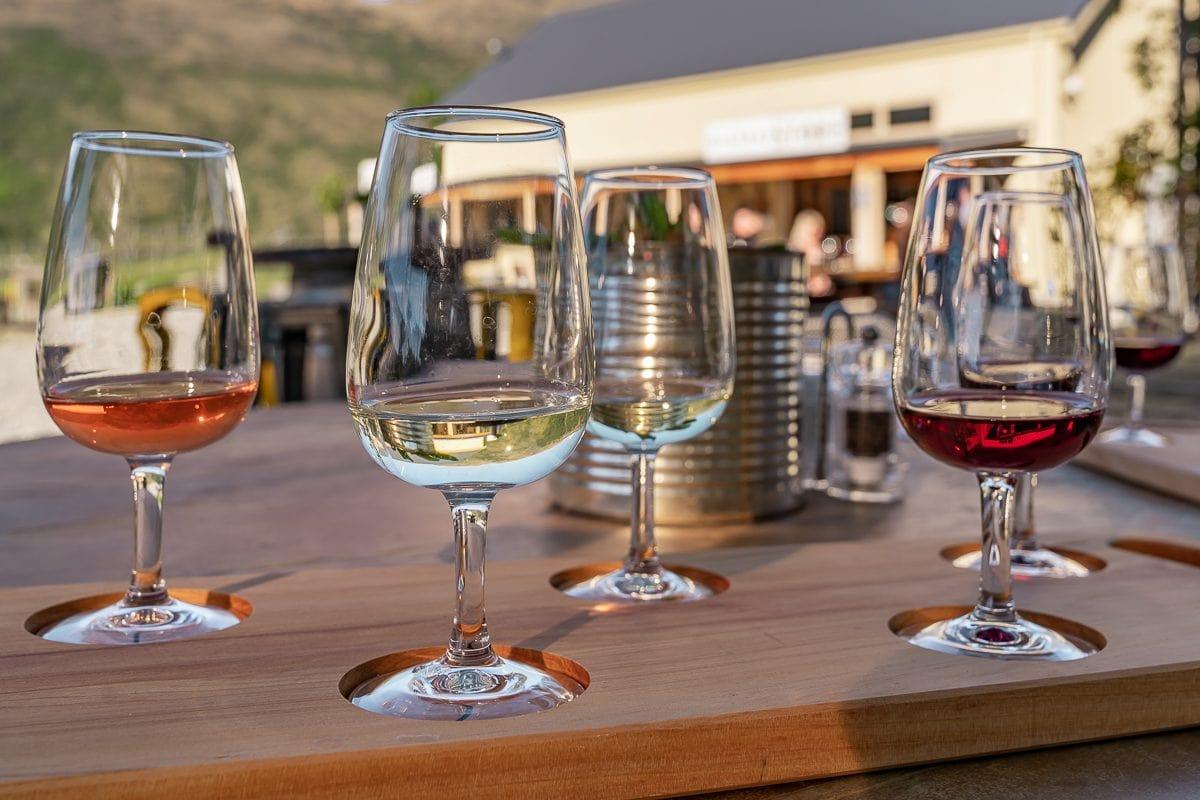 Kinross Cottages wine tasting