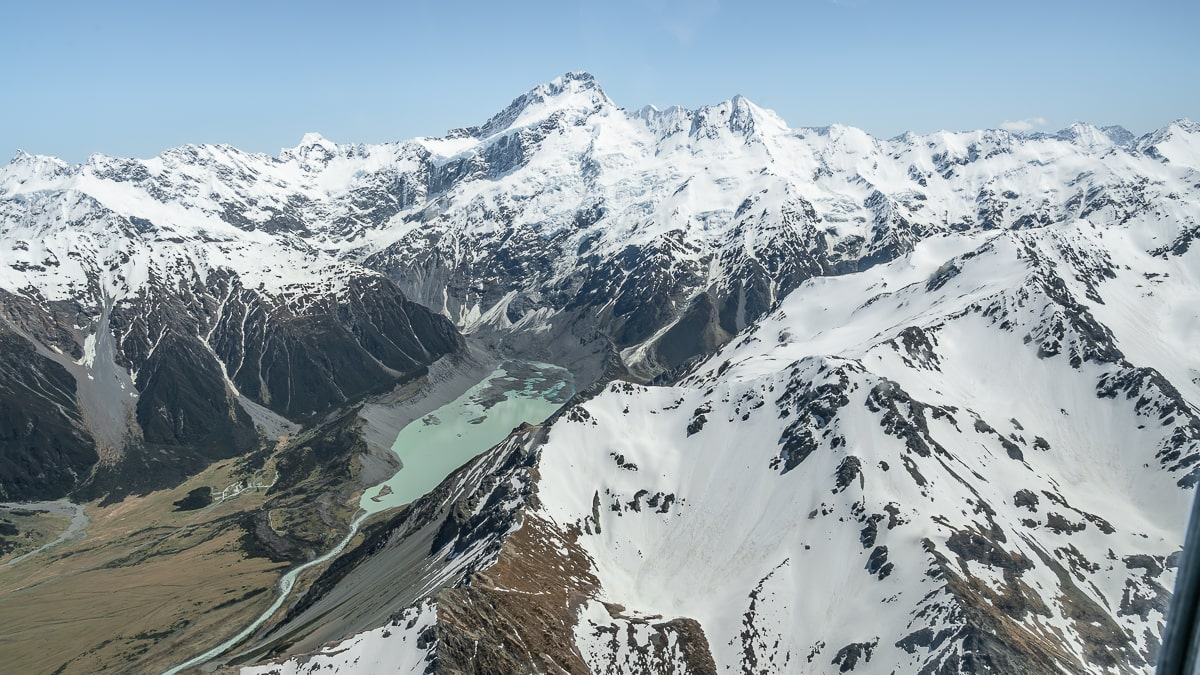 Mount Cook helicopter