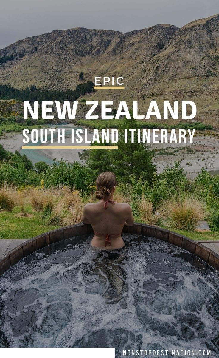pin new zealand itinerary