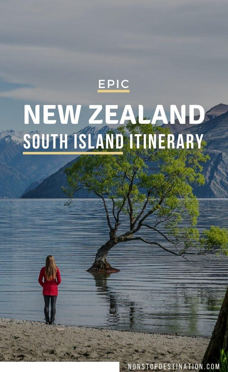 pin south island itinerary