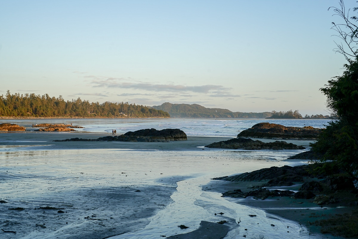 Tofino sunset beach
