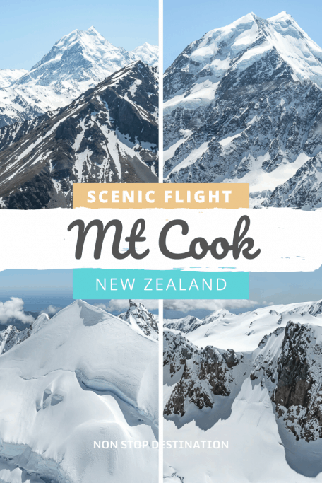 Mount Cook Helicopter Flight: Admire the Southern Alps from above | Non Stop Destination -   Visiting Mount Cook National Park is a must on your New Zealand trip. There are plenty of things to see and do around the area. However, a helicopter flight around Mount Cook and the Southern Alps gives you a unique perspective of this impressive mountain  #nonstopdestination