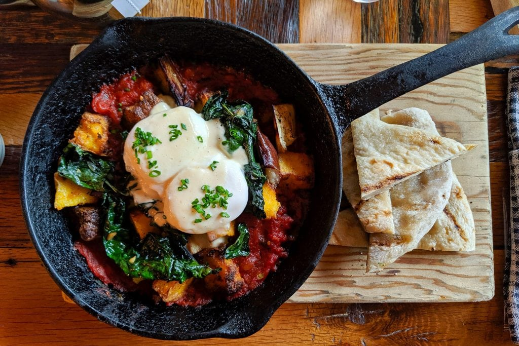 Huevos rancheros - Full breakfast