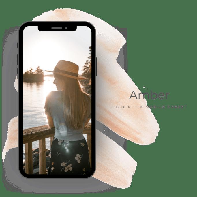 Amber lightroom preset mobile