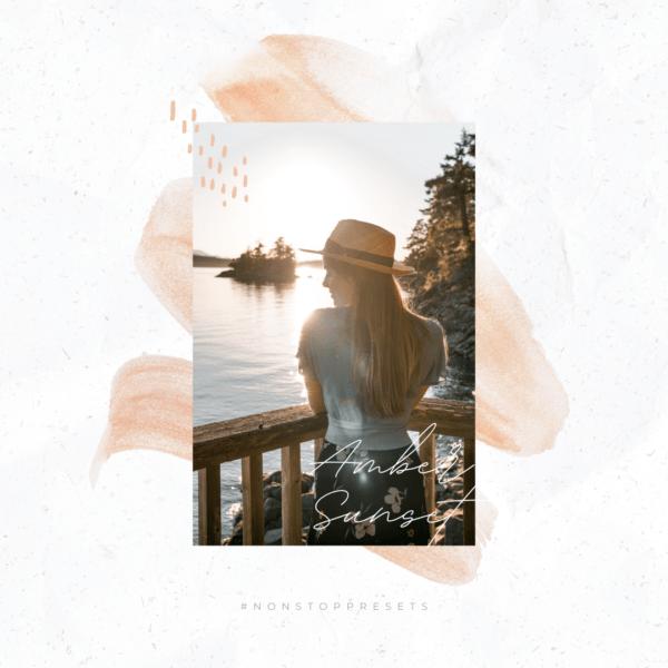 Amber sunset 02