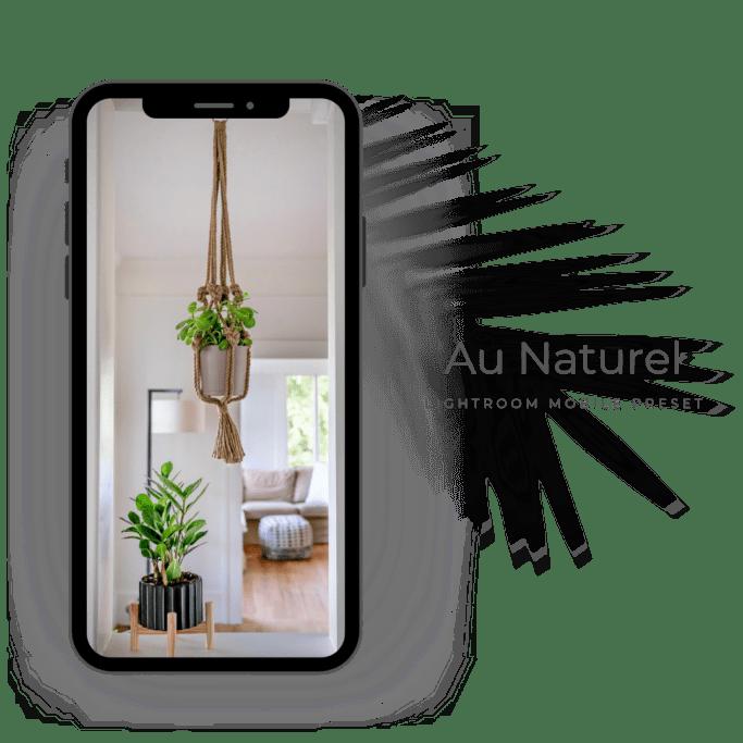 Au naturel lightroom preset mobile