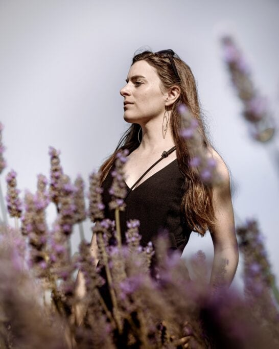 lavender field photoshoot BC