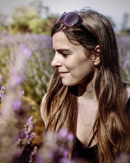 lavender field photoshoot canada