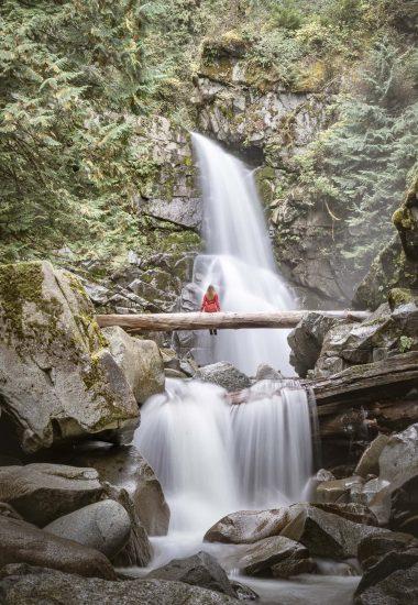Bear Creek Falls Wide